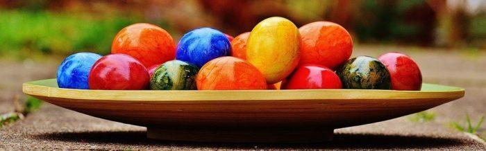 Das Osterei ist Zeichen des Lebens.