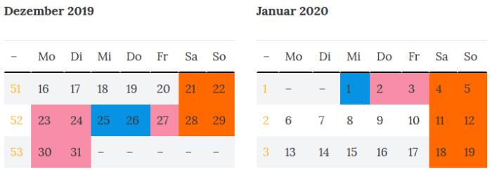 Superbruecke in Mecklenburg-Vorpommern zum Jahreswechsel 2019 - 2020
