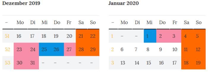 Superbruecke in Niedersachsen zur Jahreswende 2019 - 2020