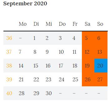 Im September 2020 hat Thüringen als einziges Bundesland mit dem Weltkindertag einen gesetzlichen Feiertag.