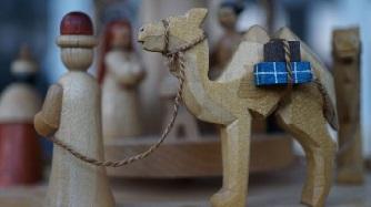 Holzfigur - Heilige Drei Könige